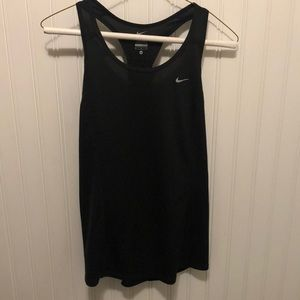 Black Nike workout tank top